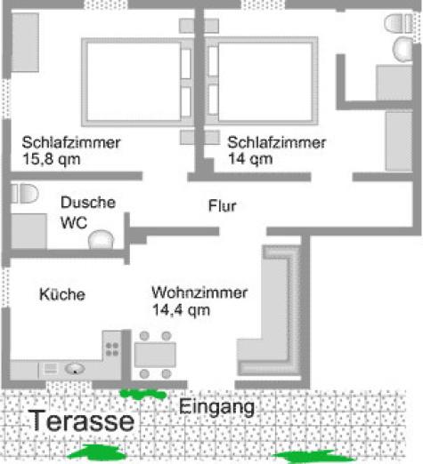 Ferienwohnung Grundriss, Grundriss Königsberg Wohnung, Ferienwohnung Königsberg Löwen